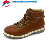 Fw18 New Fashion Design Men Casual Shoes Classic Boots Style Crazy Horse PU D-Rings in Good Price