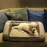 Large Dog Bed Sofa Pet Accessories Wholesale Fabric Dog Bed Pet Bed for Winter