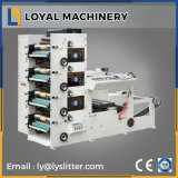 4 Colors Adhesive Label Flexographic Printing Machine