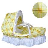 Portable Baby Bassinet Baby Cradle Wicker Baby Sleeping Basket