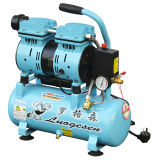 9L Double Cylinder Oilless Silent Oil Free Screw Rotary Industrial Air Compressor Pump