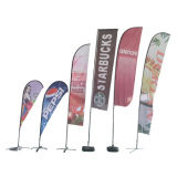 Outdoor Cheap Custom Advertising Beach Flag Banner Flags for Promotion