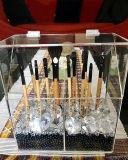 Big Discount Clear Makeup Organizer Acrylic Brush Case Holder