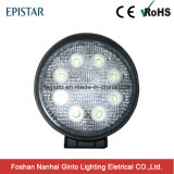 Round 24W Epistar LED Work Light (GT2009-24W)