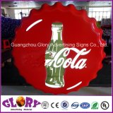 Wall Mounted Coke and Beer LED Light Box for Display