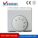White Mechanical Room Thermostat for Floor Heating (WST-2000)