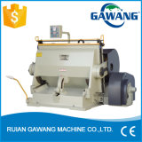 Manual Operation Type Cheap Flat Bed Cardboard Case Creasing and Die Cutting Machine