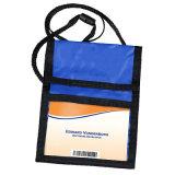 ID Badge Holder Bag, Ticket Holders, Folding Card Bag for Business Trip, Polyester Neck Wallet, Promotional Gift Name Card Holder