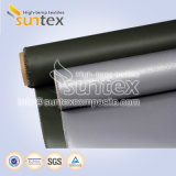 0.4 mm Manufacturer Price Thermal Insulation Fire Resistant Silicone Rubber Coated Fiberglass Fabrics Cloth