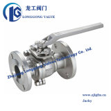 ANSI Class 150 Investment Casting Flange Stainless Steel Ball Valve Fire Safe Wcb/CF8/CF8m