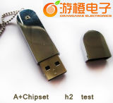 Fashion Style Metal USB Drive with High Quality (OM-M245)