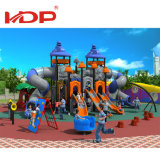 Manufacturer Outdoor Good Price 20-35kids Slide Equipment Plastic Playground