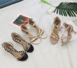 Spikes Women Shoes Sexy Women Sadals Peep Toe Heels