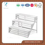 Wooden Display Stand with 3 Shelves