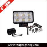 "Auto Lights DC 12V 4"" 18W Square LED Work Lights for Trucks"