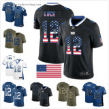 Indianapolis Custom Cheap a. Luck Football Sport Suit for Men Women