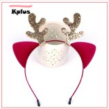 Christmas Deer Headband Cute Girl Hair Accessories
