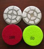Dry & Wet White Floor Polishing Pads Abrasive Diamond Tools for Granite/Concrete/Marble