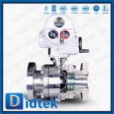 Didtek Stainless Steel 316 Electric Floating Ball Valves