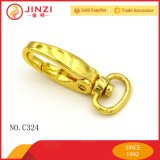 Golden Metal Snap Hook Solid Dog Leash Hook Metal Handbag Hook