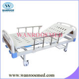 Bam200 ABS Two Crank Manual Fowler Hospital Bed with Aluminum Alloy Siderails