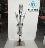 1L Laboratory Jacketed/Double Layer Glass Reactor Testing Equipment From Glass Reactor Manufacturer in China with Factory Price