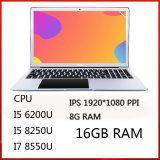 Core I5 I7 Gaming Notebook 15.6 Touchscreen Quad Core Win10 Laptop Computers