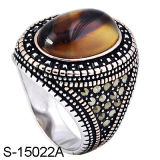 Fashion Jewelry Factory New Arrival 925 Silver Men Rings.