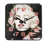 Famous Foreign Super Star Wholesale Big Wall Clock