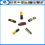 Recycle Rubber Low Price Parking Vehicle Wheel Stop with Reflective Tapes