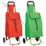 China Manufacturer of Store Supermarket Folding Shopping Cart