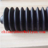 Screw Machine Rubber Dust Cover Round Corrugated Telescopic Car Stalls Three - Dimensional Dust Cover Dust - Proof Tube