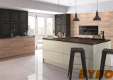 Modern Matte Lacquer+ Laminated Kitchen Furniture and Kitchen Cabinet (BY-0805)