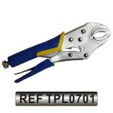 Curved Jaw Locking Plier, Straight Jaw Locking Plier, Locking Grip Plier (TPL0701)