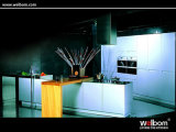Welbom MDF Lacquer Silver Kitchen Cabinet
