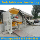 Semi-Auto Color Paving Brick Machine Cement Sand Block Machine