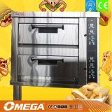 Omega 4 Trays Double Deck Oven (manufacturer CE&ISO9001)