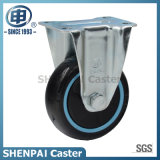 "4"" Black PU Rigid Industrial Caster Wheel"