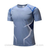 Mens Fashion High Quality Fitting Body Slim Breathable Sports T-Shirt