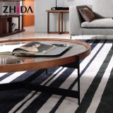 Modern Rectangle Marble Top Coffee Table