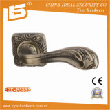 Zamak Door Lock Handle with Rose (ZK-F5855)