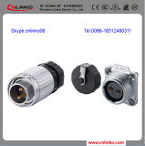 Cnlinko 2 Pin High Quality Connector/Waterproof Bulkhead Electrical Connector