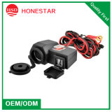 High Quality Dual USB 12V Waterproof Motorcycles Cigarette Lighter Socket