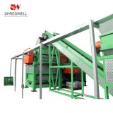 Complete Waste Tire Recycling System for Used Tyre Shredding