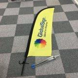 Custom Beach Flags for Advertising