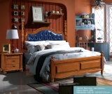 America Style Wooden Bedroom Sets for Bedroom Furniture (1601)