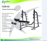 Strength Commercial Gym Equipment/Olympic Decline Bench