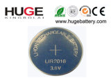 3.7V Lithium Button Cell Battery (LIR2016, LIR2032, LIR2477) for consumer electronics