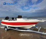 6.2m 20FT Speed Aluminum Boat for Sea Fishing