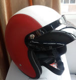 Newest Half- Face Motorcycle/Bike Leather Helmet with High Quality Cheap Price